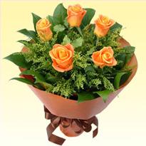 花束 イエローオレンジ