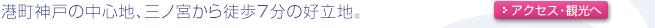 楽天アワード2007金賞受賞 神戸観光やビジネスの拠点に!