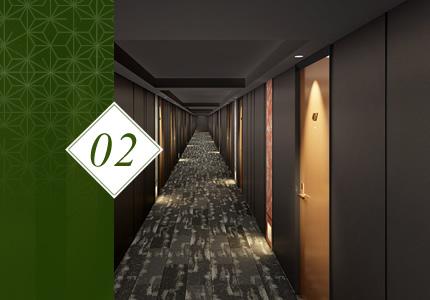エレベーターホール・廊下 Tori-niwa
