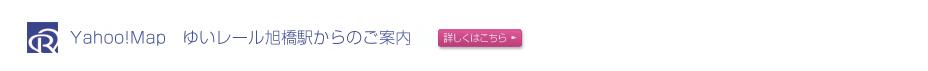 Yahoo!Map ゆいレール旭橋駅からのご案内