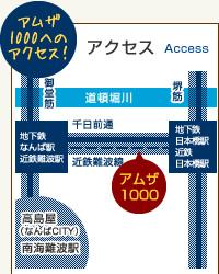 アムザ1000へのアクセス