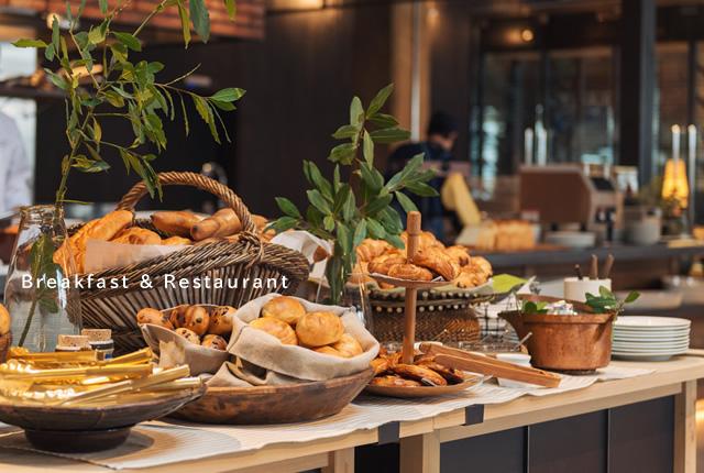 Breakfast & Restaurant
