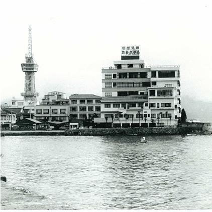 いにしえの花菱ホテルと別府タワー