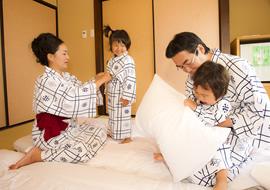 【アメニティ】お子様用の浴衣