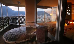 眺望海側 露天風呂付き和室