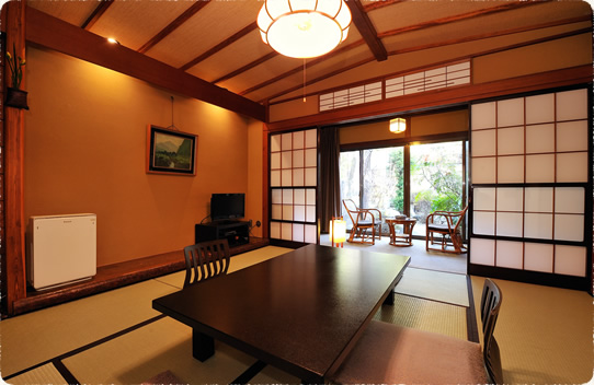 新館 8畳和室 青石風呂付客室