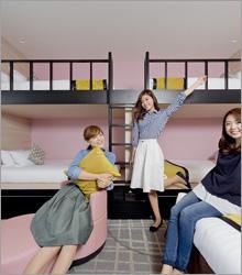 1日1室限定!グループやファミリーにおすすめ!2段ベッドルーム【朝食付】!