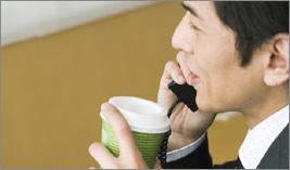 モーニングコーヒー無料サービス