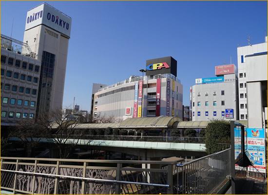 藤沢駅前周辺