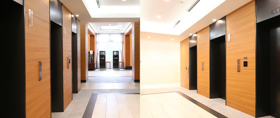 各階 エレベーターホール