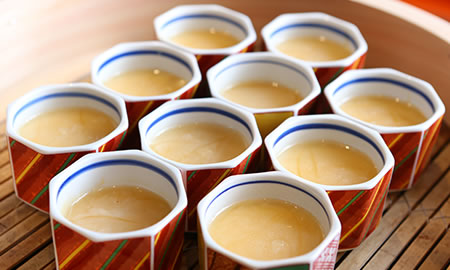 気仙沼名物フカヒレ茶碗蒸し