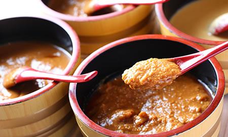 仙台味噌四種食べくらべ