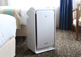 加湿機能付プラズマクラスター空気清浄機