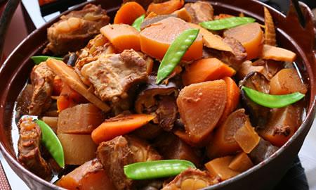 豚軟骨の醤油煮