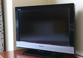 全室32型以上の大型テレビ