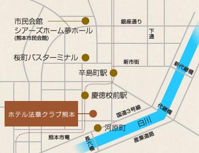 ホテル法華クラブ浅草 地図