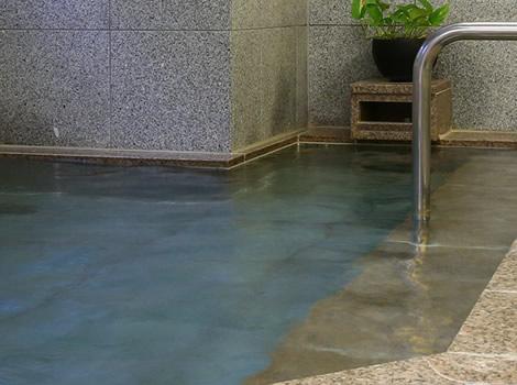ココロとカラダを癒す、大浴場。