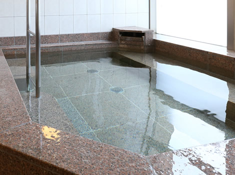 ココロとカラダの疲れを癒す、大浴場。
