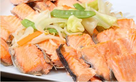鮭と野菜のちゃんちゃん焼き