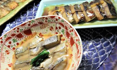 料理長おすすめ朝の魚料理