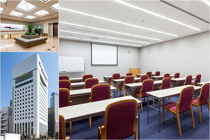 ダイワロイネットホテル名古屋新幹線口の会議室 15名以上の宿泊で5時間無料