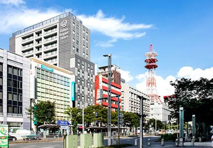 千葉駅から徒歩3分