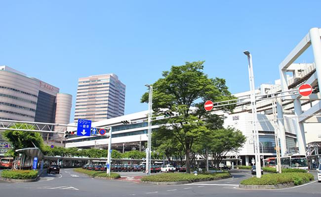 ダイワロイネットホテル千葉駅前へのアクセス