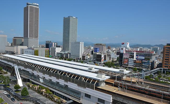 ダイワロイネットホテル岐阜へのアクセス