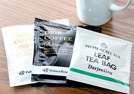ドリップコーヒー&紅茶