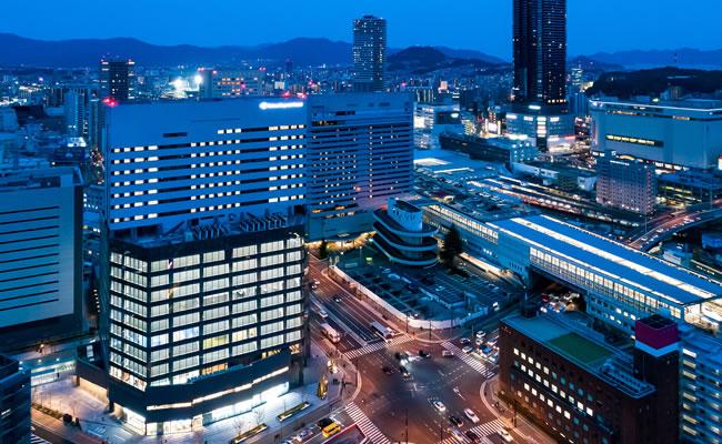 ダイワロイネットホテル広島駅前へのアクセス