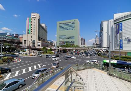 JR「三ノ宮駅」より徒歩約5分の好アクセス!