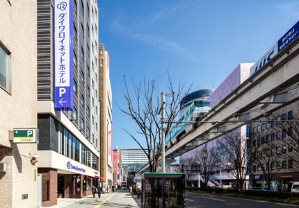 JR小倉駅 小倉城口(南口)より徒歩4分