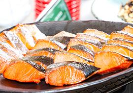 新鮮サラダと京都サンド
