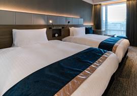 ゆったりサイズのベッド
