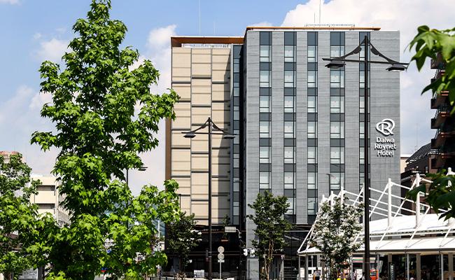 ダイワロイネットホテル京都テラス八条東口へのアクセス