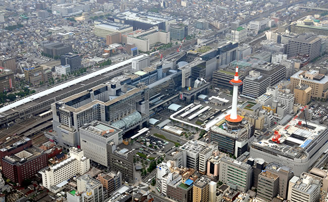 ダイワロイネットホテル京都八条口へのアクセス