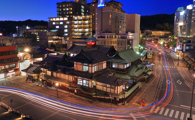 ダイワロイネットホテル松山へのアクセス