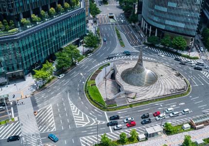 JR「名古屋駅」より徒歩約5分の好アクセス!