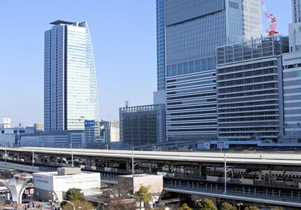 JR「名古屋駅」より徒歩約3分の好アクセス!