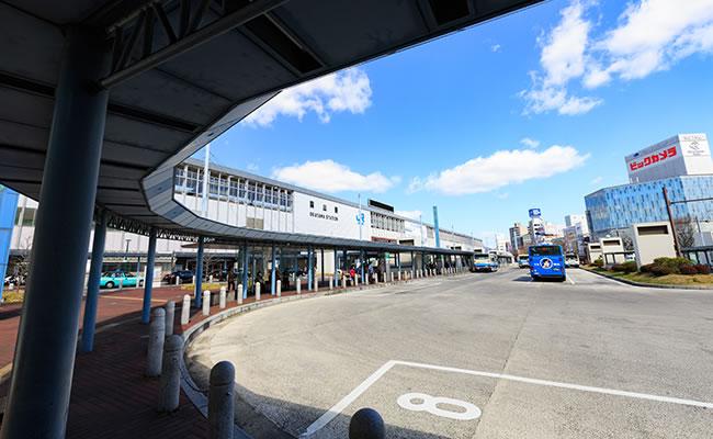ダイワロイネットホテル岡山駅前へのアクセス