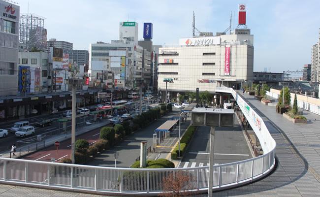 ダイワロイネットホテル堺東へのアクセス