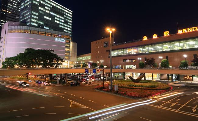 ダイワロイネットホテル仙台へのアクセス