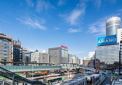 新横浜駅や観光・イベントスポットが至近!