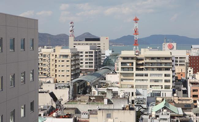 ダイワロイネットホテル高松へのアクセス