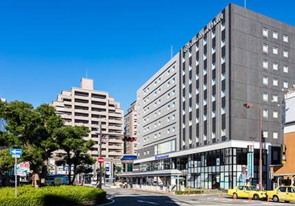 JR徳島駅より徒歩約1分の好アクセス!