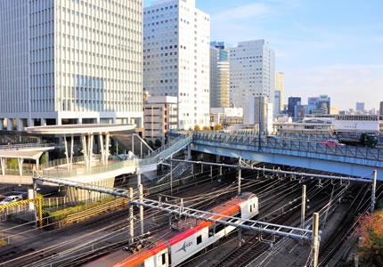 JR「大崎駅」より徒歩約3分の好アクセス!