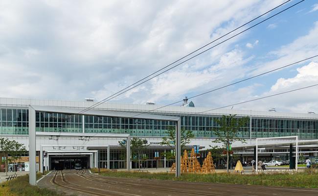 ダイワロイネットホテル富山駅前へのアクセス