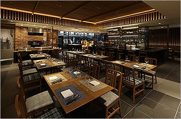 イタリアンレストラン ボンサルーテKABUKI 1階