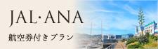 JAL・ANA航空券付プラン