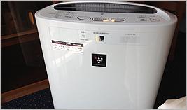 全室空気清浄機完備